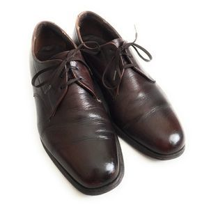The Florsheim Shoe Brown Leather Lace-up Oxfords